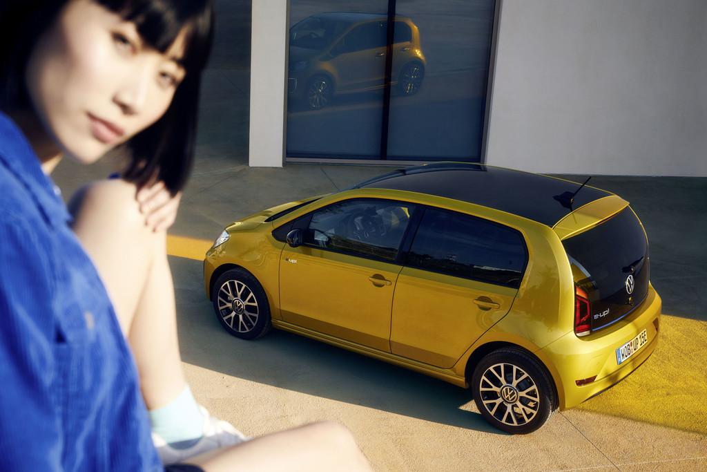 Volkswagen e-Up! komt verder