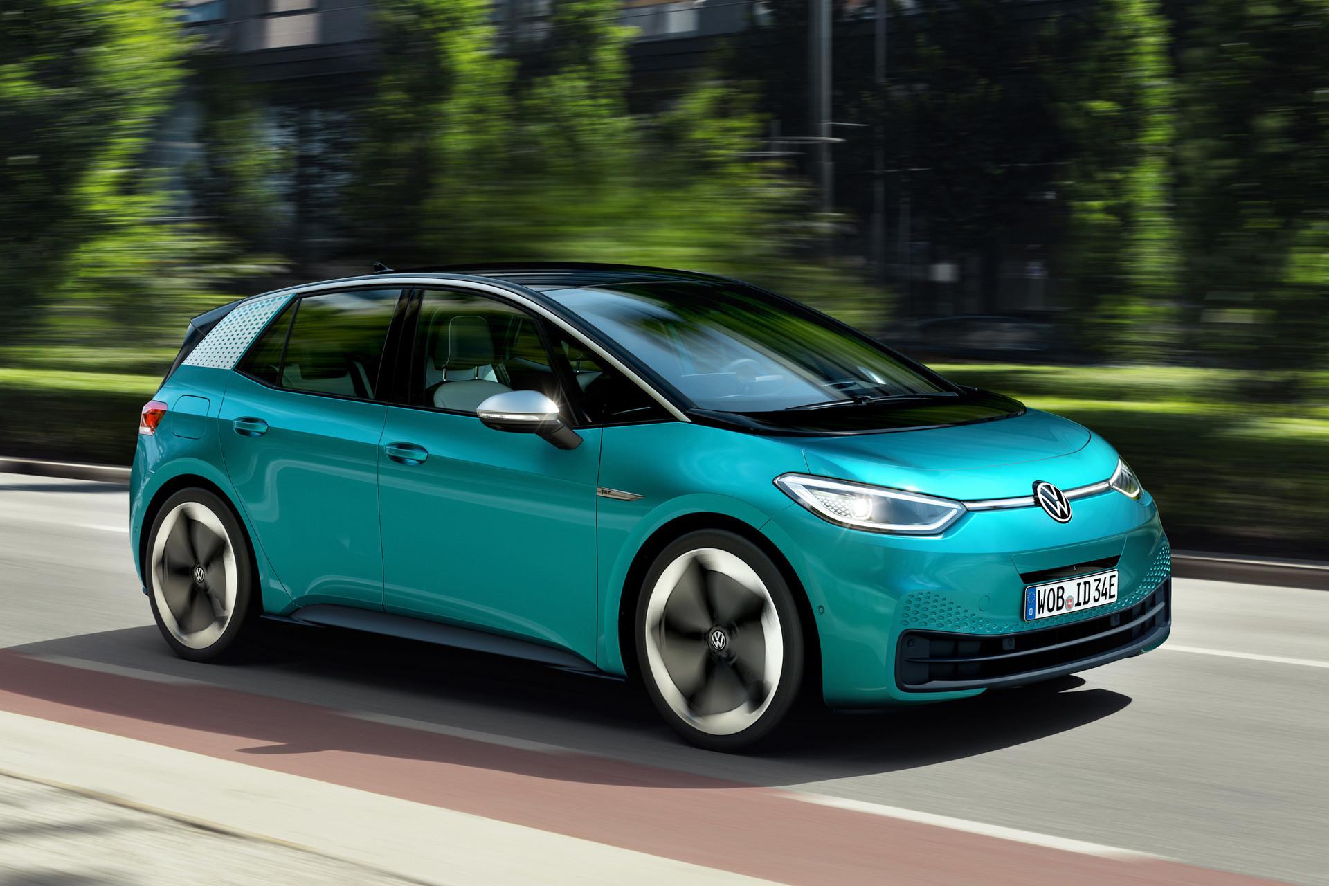 De I D Buzz Minivan By Volkswagen Het Elektrische Volkswagen Busje Komt Zo