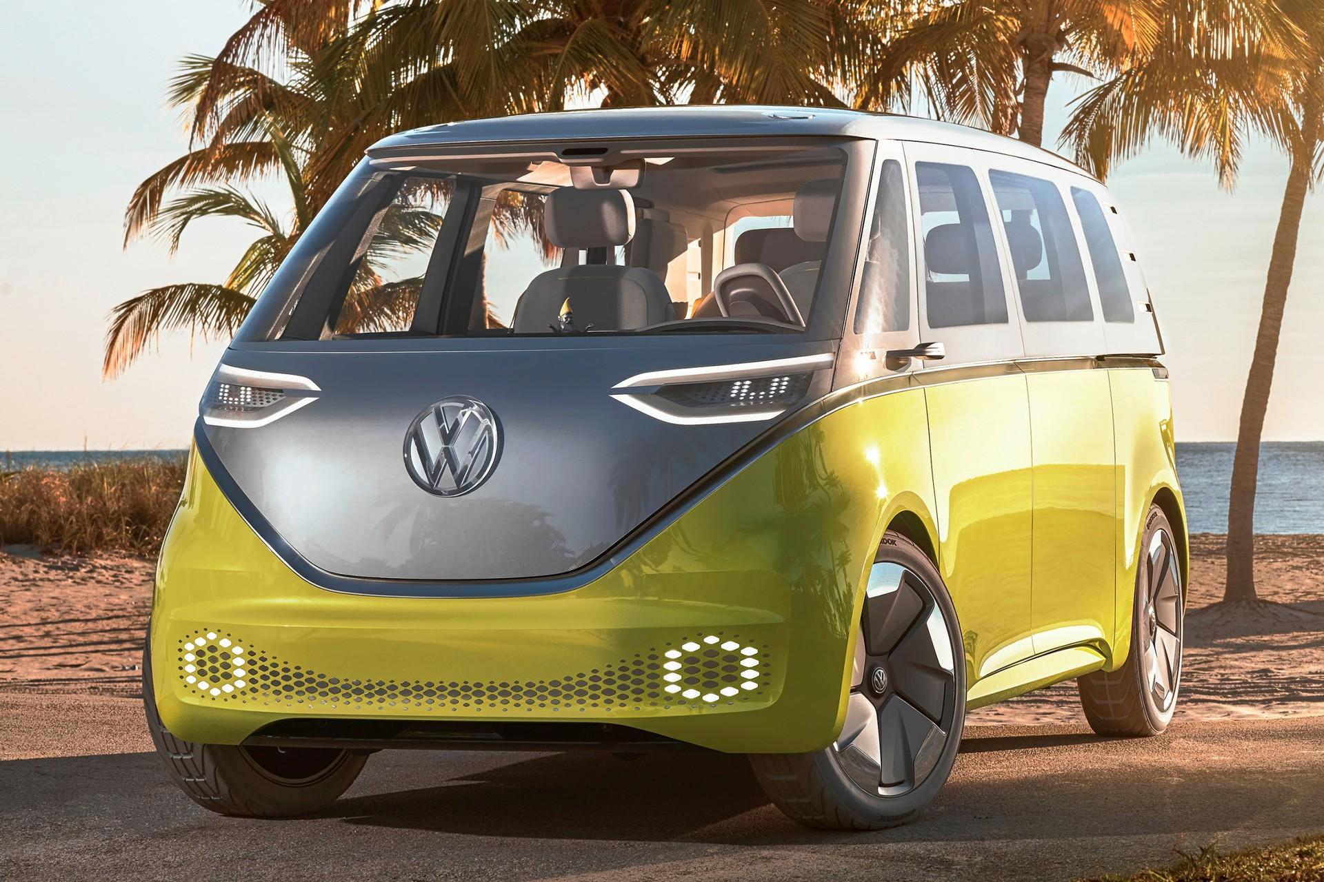 Hij Komt In 2022 De Elektrische Volkswagen Microbus Autonieuws Autokopen Nl