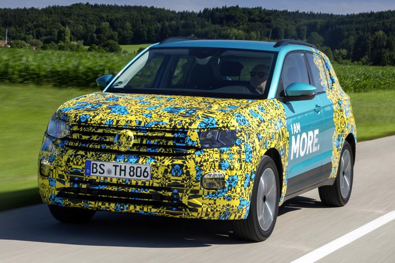 Volkswagen T-Cross kruipt uit z'n schulp