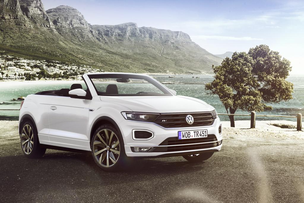 Alle prijzen Volkswagen T-Roc Cabrio bekend