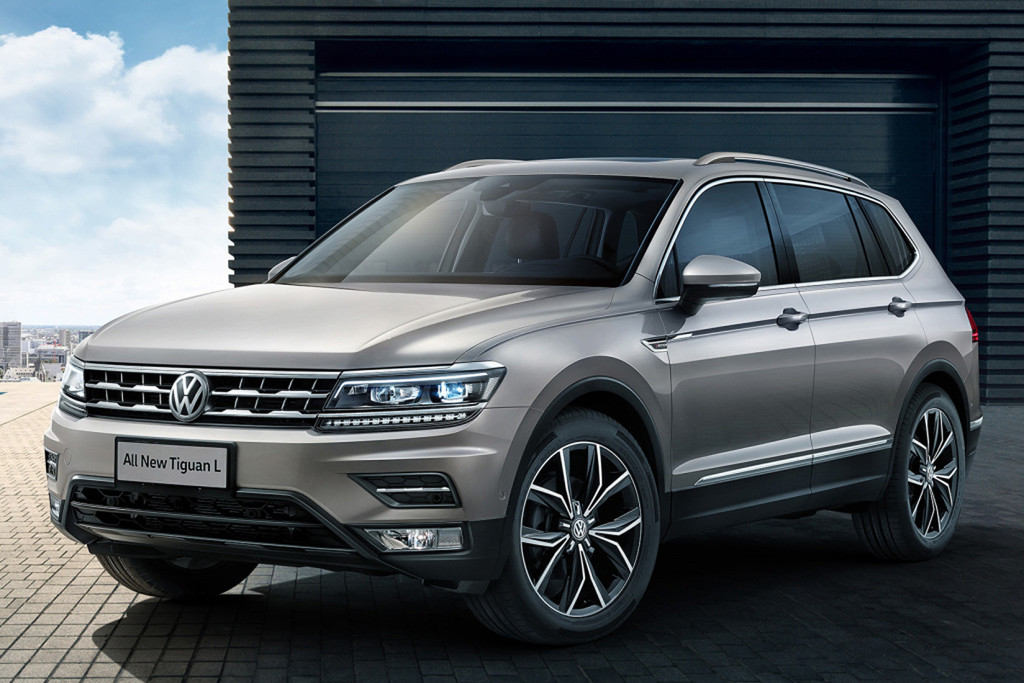 chinees broertje volkswagen tiguan allspace in beeld autonieuws. Black Bedroom Furniture Sets. Home Design Ideas