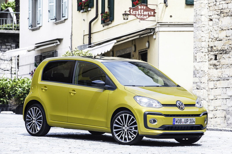Volkswagen Up! private lease actie