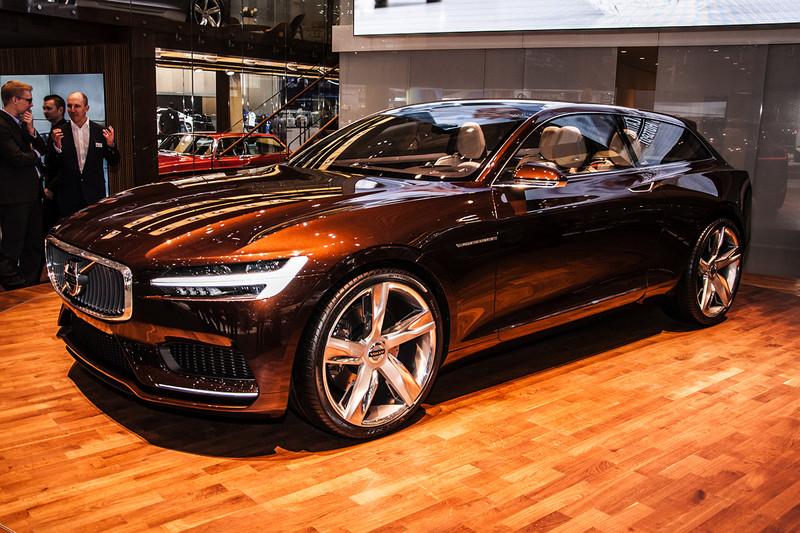 Genve 2014 Volvo Concept Estate En V40 D4 Fotoreportages