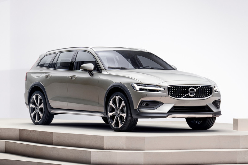 Volvo presenteert V60 Cross Country