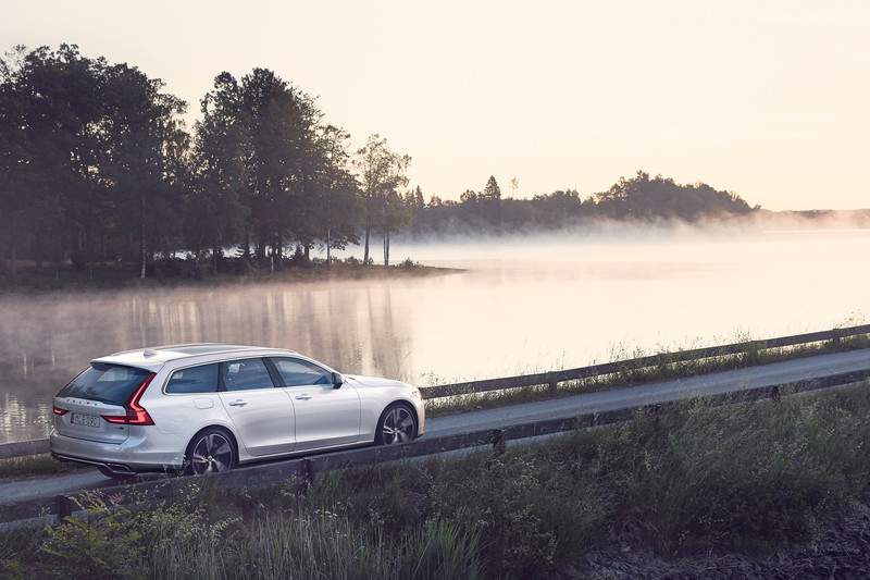 Actieauto: Volvo V90 met private lease