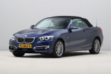 BMW 2 Serie Cabrio 218i High Executive / Active Cruise Control/ Stuurverwarming/ Luxury Line/ Camer