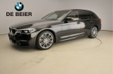 BMW 5 Serie 530D M-sportpakket / LED / Leder / HUD / Schuifdak / Trekhaak / Soft close / HiF
