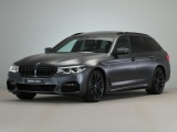 BMW 5 Serie Touring 540i xDrive High Exe M-Sport in Frozen Grey M-Performance !