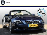 BMW 6 Serie Cabrio 650i High Executive Leer Nightvision Leer Nightvision Xenon Navi 368PK!