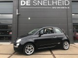Fiat 500 Cabriolet 0.9 TwinAir Lounge Automaat, Leer,