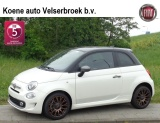 "Fiat 500 TwinAir Turbo 80 Sport BICOLORE 120th 7""NAVI CLIMATE 16"" APPLE"