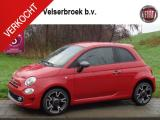 "Fiat 500 TwinAir Turbo 85 Sport Lite 7""NAVI APPLE AIRCO 16"""