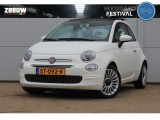 "Fiat 500 TwinAir Turbo Lounge Navi Clima Schuifdak 16"" Apple Carplay BTW"
