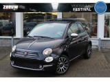 "Fiat 500 1.0 Hybrid Star Schuif/Kanteldak Clima 16"" Pack Chrome Carplay"