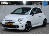 Fiat 500 Twin Air Turbo 80 PK Sport Navi Clima Cruise Parelmoer 16""
