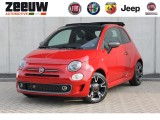 "Fiat 500C TwinAir Turbo 85PK Sport Leder Clima Navi 16"" Apple Carplay 5jr."