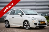 Fiat 500C 0.9 TwinAir Turbo 500S , Leer, Blue&Me, Climate control
