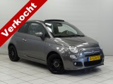 "Fiat 500C 0.9 TwinAir 500S Airconditioning Blue en Me 16""LM 86 PK!"