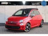 Fiat 500C 1.0 Hybrid Rockstar Leder Clima Navi Apple Carplay 16""