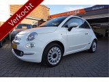 Fiat 500C 1.2 Lounge Parelmoer NAVI Apple Carplay/Android