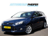 Ford Focus Wagon 1.6 TDCI Econetic Lease Titanium/ Full map navigatie/ Leer/ Inparkeerhulp/