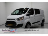 Ford Transit Custom 2.0 TDCi 130pk Trend Dubbel Cabine Airco, Cruise, PDC V+A