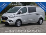 Ford Transit Custom 320L 170PK DC Limited  ac379 / Maand Airco Navi Camera Trekhaak Alarm Blind Spot!!