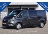 Ford Transit Custom 320L 170PK 2.0 TDCI Limited Dubbel Cabine Airco Navi Camera Trekhaak Alarm Blind
