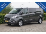 Ford Transit Custom 300L 170PK 2.0 TDCI Limited Dubbel Cabine Airco Navi Cruise Camera Trekhaak Auto
