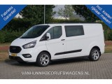 "Ford Transit Custom 320L 2.0 TDCI 130PK Trend dubbel cabine Automaat Airco Cruise Navi DAB+ 18"" ST v"
