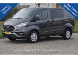 Ford Transit Custom 300S 170PK DC Limited  ac379 / Maand Navi, Alarm Camera Airco Trekhaak Blind Spot!