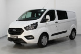 Ford Transit Custom 2.0 TDCi 130 pk Trend L2H1 Airco, PDC V+A, Achterklep, Cruise, Bluetooth, 5x Voo