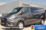 Ford Transit Custom 320 2.0TDCI 170pk L2H1 Trend DC | Automaat | Airco | Cruise | PDC | L+R Schuifde