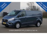 Ford Transit Custom 300L 130PK 2.0 TDCI Limited Automaat Airco, Camera, Cruise Trekhaak Navi!! NR. B