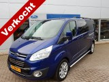 Ford Transit Custom 340 2.0 TDCI L2H1 AUTOMAAT 170PK LIMITED DC | Camera | Adaptive Cruise | Trekhaa
