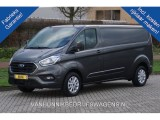 Ford Transit Custom 300L 130PK Limited Aut  ac374 / Maand Airco, Camera, Blind Spot Trekhaak Navi!! NR