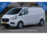 Ford Transit Custom 300L 130PK Limited  ac357 / Maand Airco, Camera, Cruise,Trekhaak Navi Blind Spot!!
