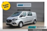 Ford Transit Custom 320 2.0 TDCI 185pk L2H1 Trend Dubbel Cabine Automaat - Airco - Camera - Trekhaak