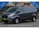 Ford Transit Custom 300L 170PK Limited  ac400 / Maand Camera, Adap. Cruise, Trekhaak Navi 2x Schuifdeu