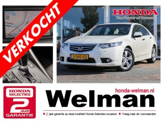 Accord 2.0i V-TEC LIFESTYLE - AUTOMAAT - HDD NAVIGATIE - WINTERSET