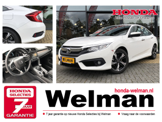 Civic 1.5 i-VTEC - Sedan - 182PK - Turbo - Elegance - Connect Navigatie