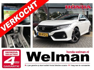 Civic 1.0 i-VTEC TURBO - PREMIUM Automaat - Panoramadak - Connect Navigatie