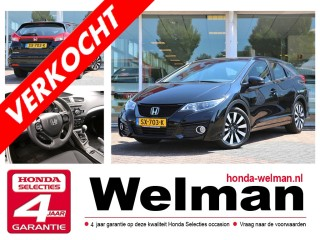 Civic Tourer 1.8i V-TEC - ELEGANCE - 140 PK - Nieuw Model!!!