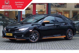 Civic 1.0T Elegance Orange line - All-in prijs | Gar tot 02-2021 | Trekhaak!
