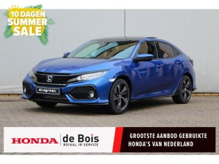 Civic 1.5 Sport Plus Aut. | €4700,- Nu of nooit Maart Deals! | Schuifdak | Camera | Ke