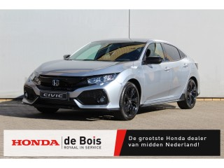 Civic 1.0 i-VTEC Black Edition | €4000,- Nu of nooit Maart Deals! | Leer | Navigatie |