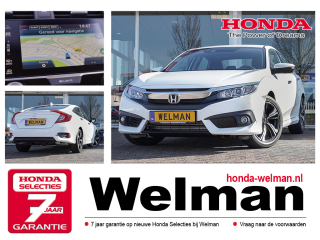 Civic 1.5i V-TEC ELEGANCE - TURBO - 182PK - CONNECT NAVIGATIE - SEDAN