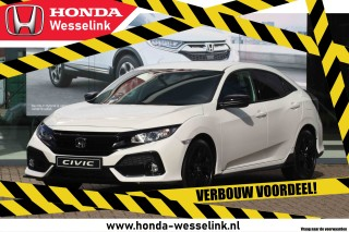 Civic 1.0T Elegance Black Edition - All-in prijs | Leder | navi | Honda Sensing | VERB