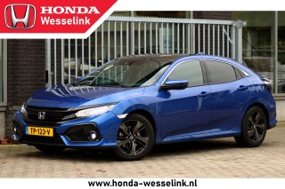 Civic 1.6D AT Premium - All-in prijs | Leer | Schuifdak | Honda Sensing!